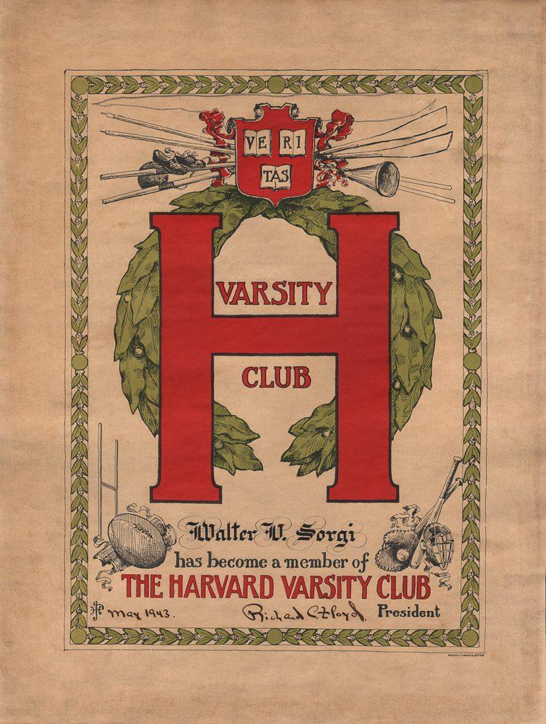 Harvard Varsity Club - Sorgi Insurance