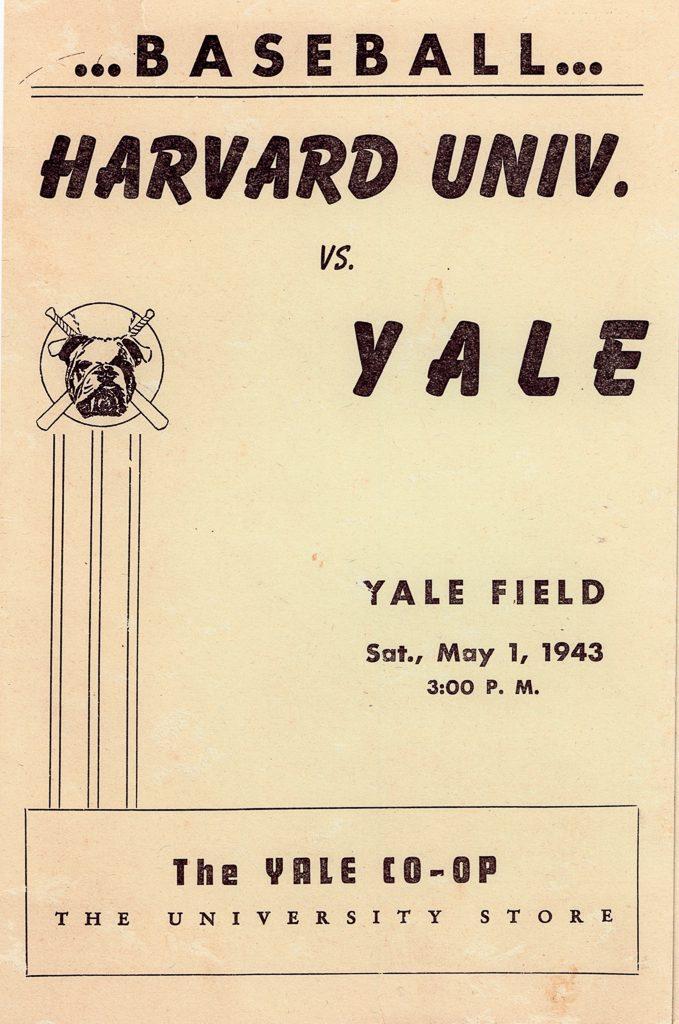 Harvard vs Yale Poster 1943